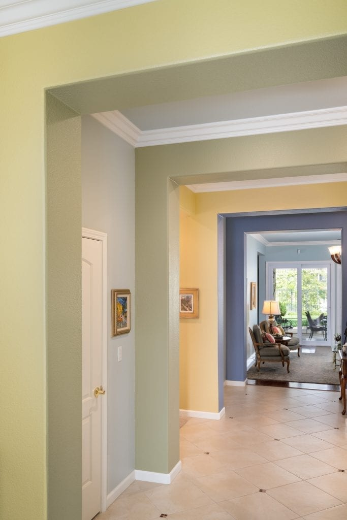 Full Home Redesign Entryway Sherwin Williams Paint