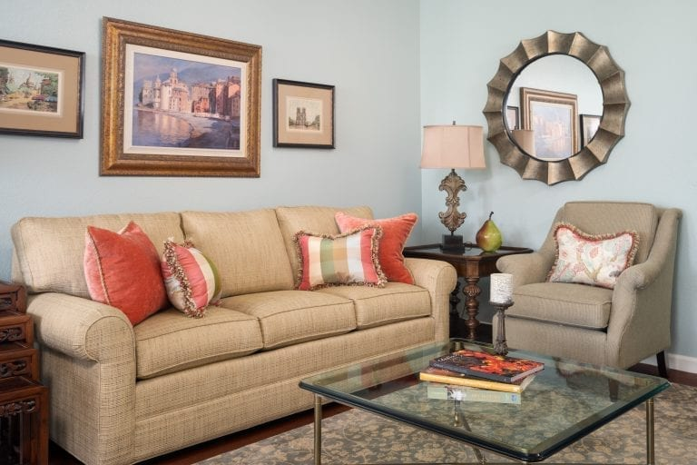 Living Room Interior Design Right at Home Interiors