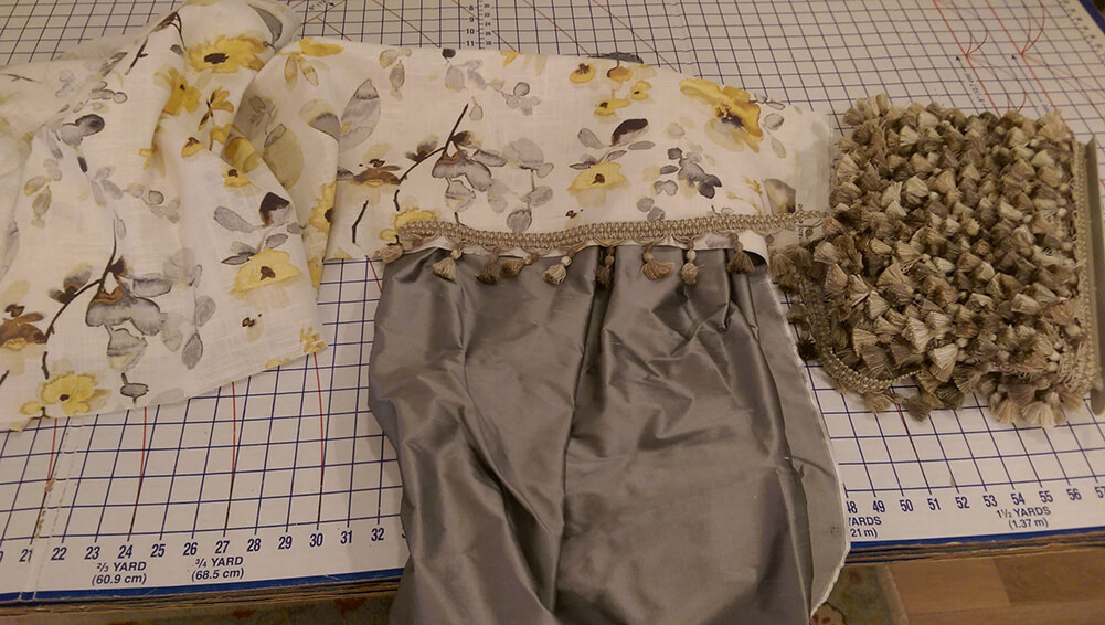 Vern Yip fabrics for window treatment design