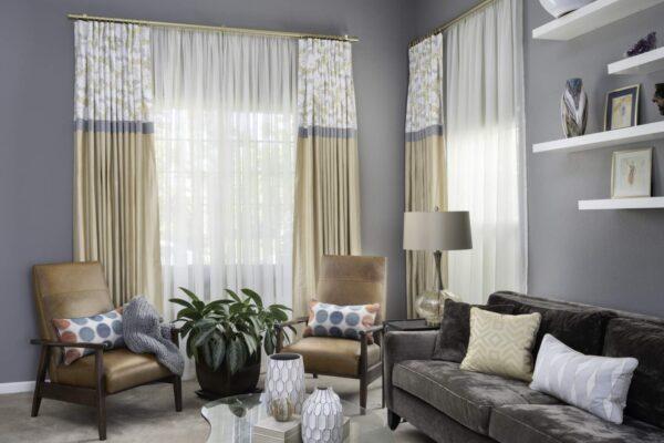 Valerie's Award-Winning Custom Window Treatments