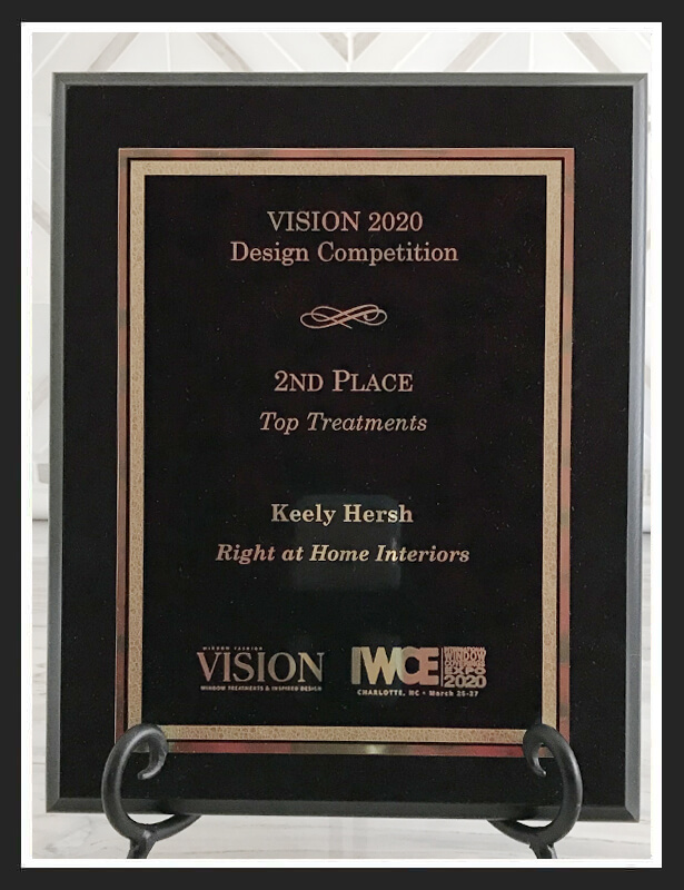 2nd place Top Treatments Vision Design 2020