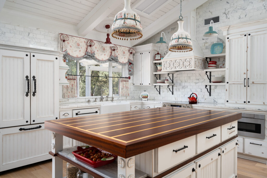This cottage kitchen won big at the International VISION Design & Workroom Awards