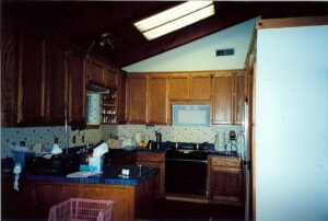 Original Kitchen When House Was Bought