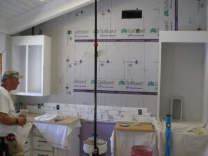 Calcutta tile in progress