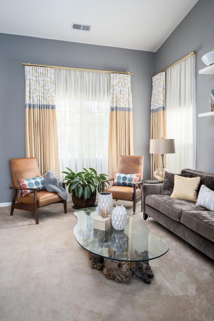 modern curtains & draperies