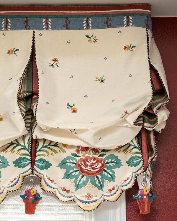 Traditional Custom Window Treatments